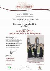 Musica \'800 - 13 novembre