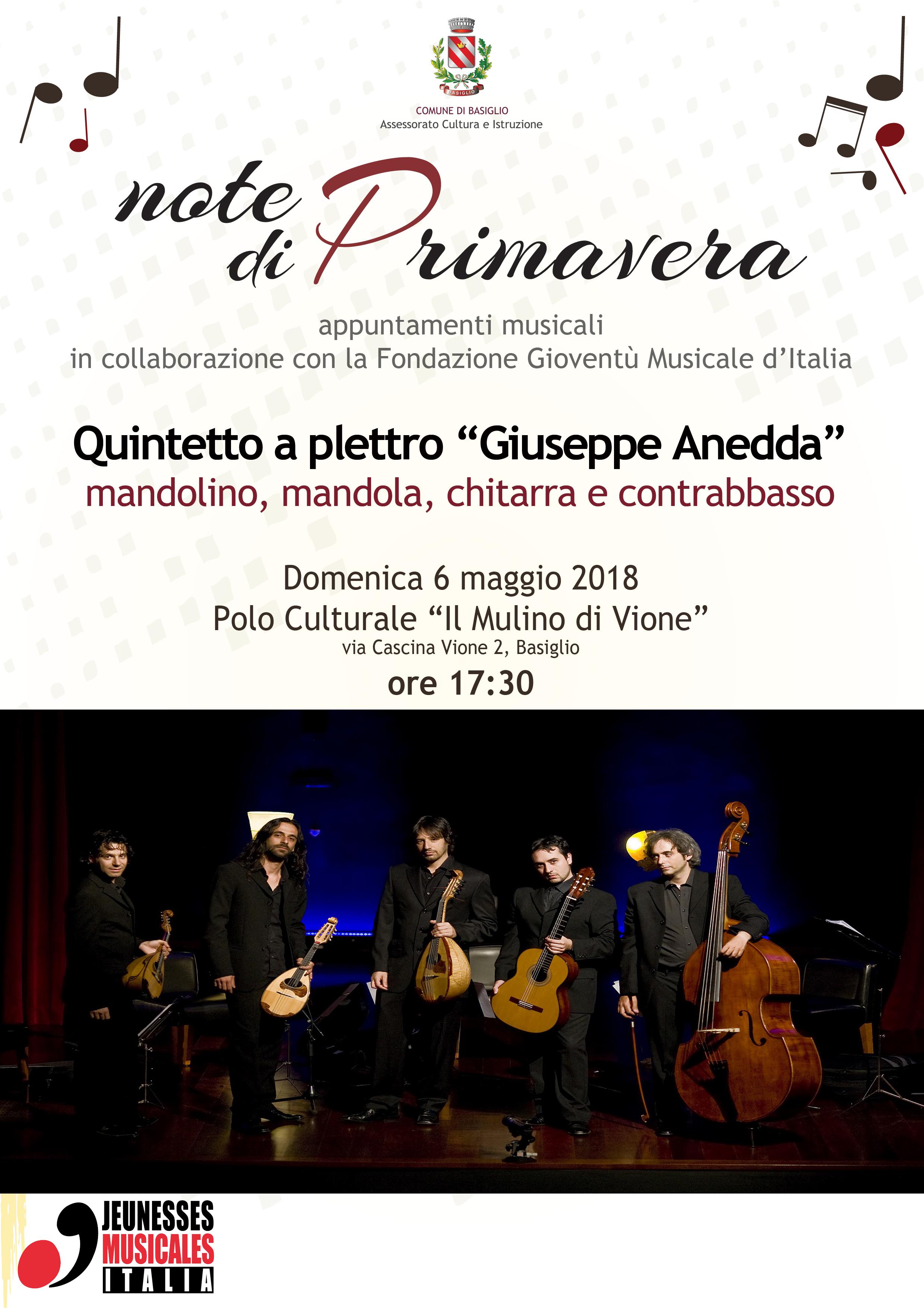 Quintetto Anedda Gioventu musicale