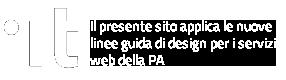 Logo linee guida di design per i servizi web della PA